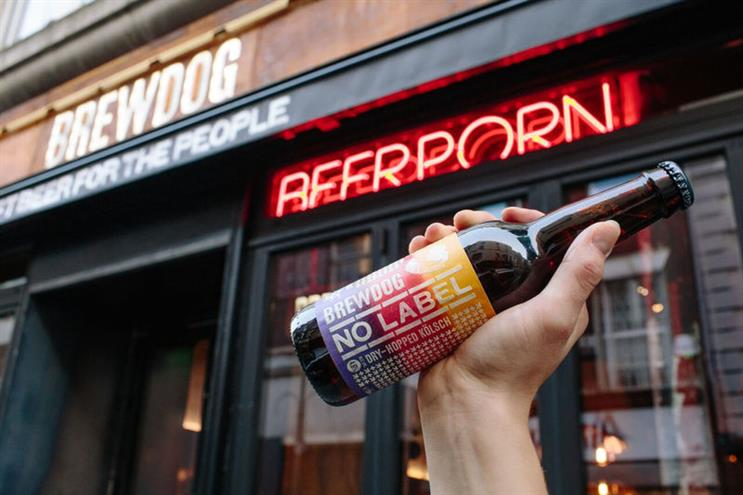 """BrewDog: Stonewall is """"concerned about the language"""" used around latest beer"""