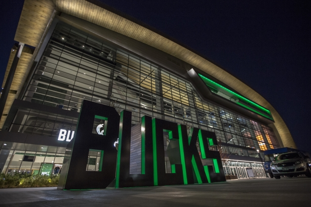 4 questions for Milwaukee Bucks comms head Barry Baum on opening two sports arenas