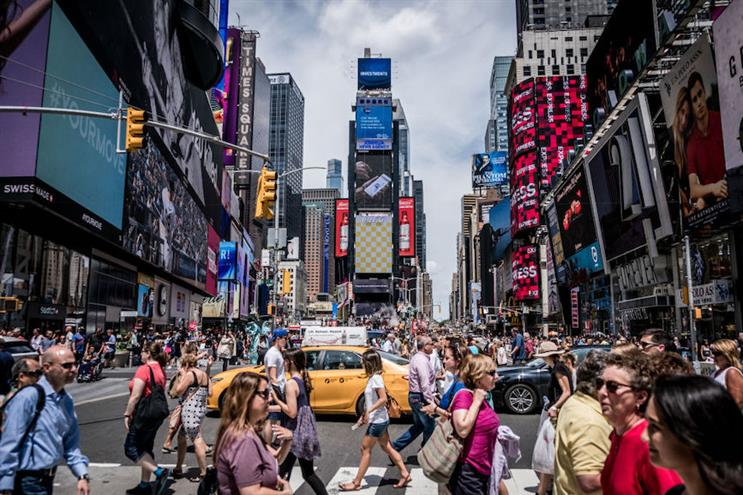 A sight New Yorkers thought they'd never miss — a bustling Times Square — reminds us that it's the people who make this city come alive. (Photo credit: Getty Images)
