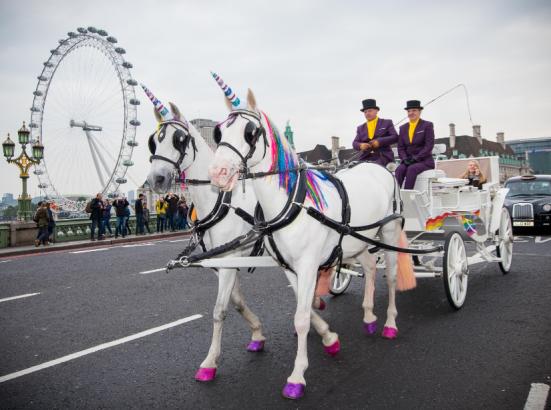 Activists kick off over Three's 'unicorn' cab rides - despite positive public response