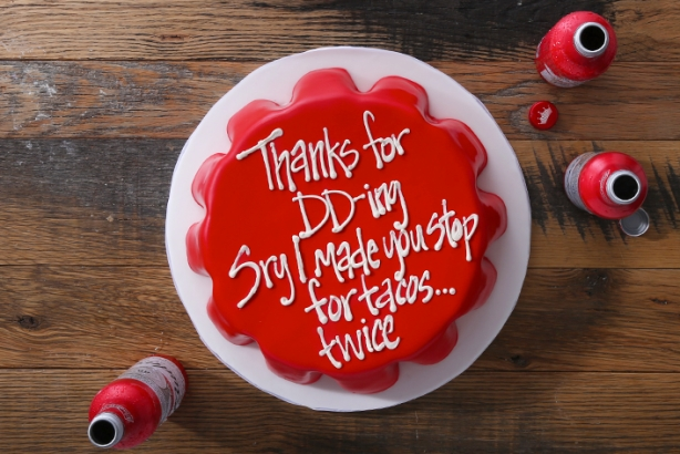 Budweiser creates apology cakes for designated drivers on behalf of Super Bowl party-goers