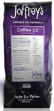 Joffrey's Coffee & Tea builds a java buzz with its Web site