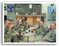 GRE urges support for US troops via virtual toasts