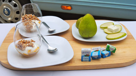 Alouette takes portion control on the road