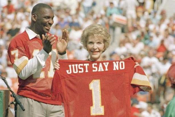 Nancy Reagan's most memorable 'Just Say No' moments