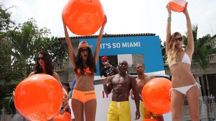 Miami comes to downtown Manhattan