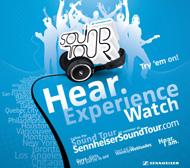 Sennheiser takes headphones on countrywide tour