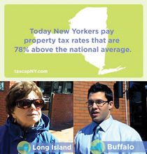New York State realtors make a play to tout local property tax cap