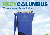 Columbus residents curb recycled trash with new green initiative