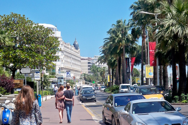 Cannes, France. Wish you were here? (Image via Wikimedia Commons, by Joseph Plotz - Own work, CC BY 3.0)