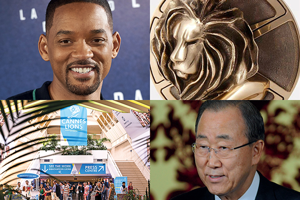 (Credits: Will Smith: Rex_Shutterstock, Ban Ki-moon: Dana Press Photos/PA Images)