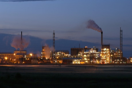 Teesside: home to a lot of heavy industry
