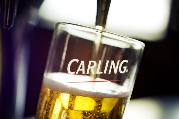 Molson Coors: Burt Greener will help publicise its brands such as Carling