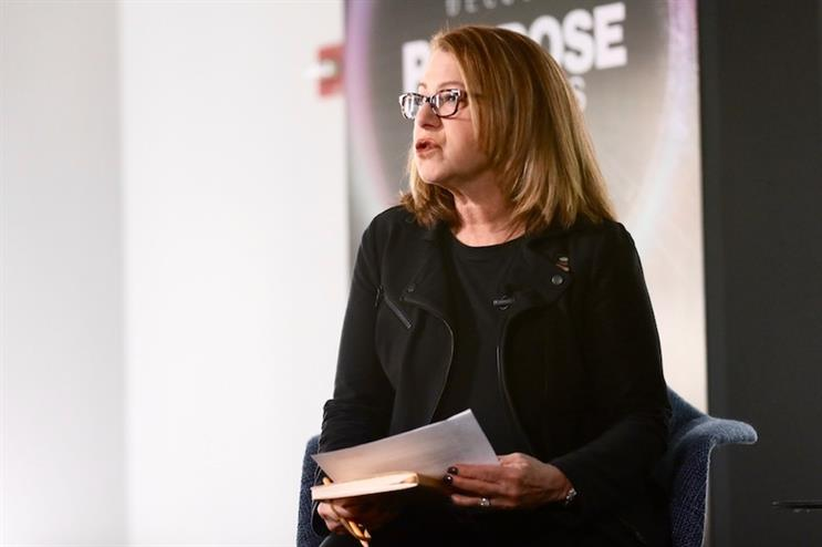 Carol Cone chairs a session on bold moves, dicey detours and purpose lessons at PRDecoded last week.