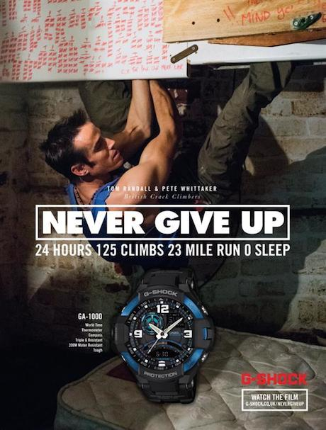 Casio: Campaign focused on incredible people doing incredible things