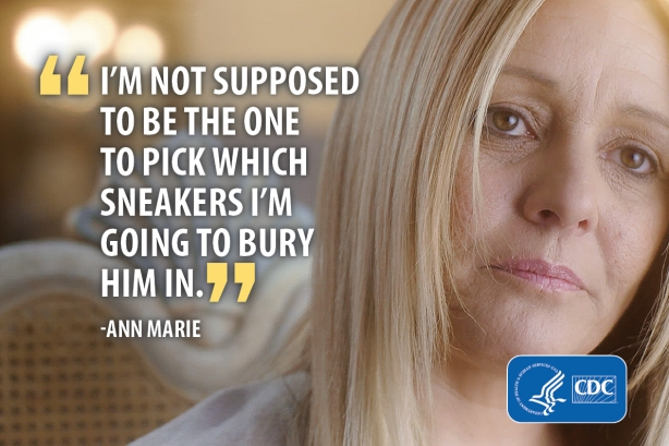 CDC tells opioid addiction stories with message: 'It only takes a little to lose a lot'