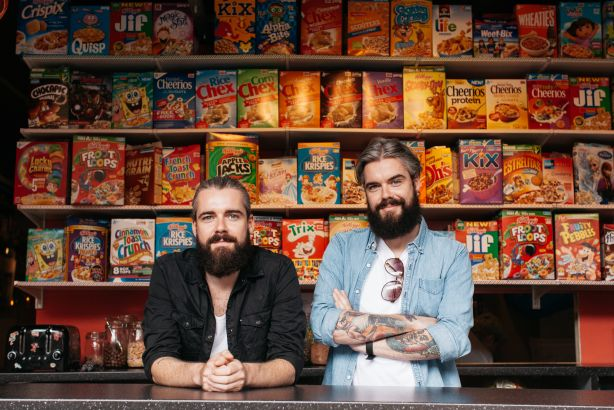 The Keery Twins: Co-founders of Cereal Killer Café hire social media agency
