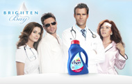 P&G's Cheer brand gets help from 'soap' star