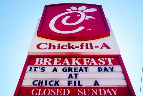 Coca-Cola's Ashley Callahan is headed to Chick-fil-A (Photo credit: Chick-fil-A's Instagram)