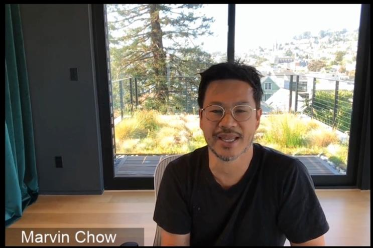 Google's Marvin Chow spoke at Campaign Connect.