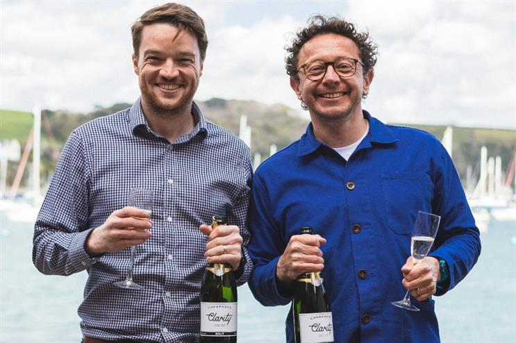 3WhiteHats strategy and innovation director Will Julian-Vicary (left) with MD Tom Telford