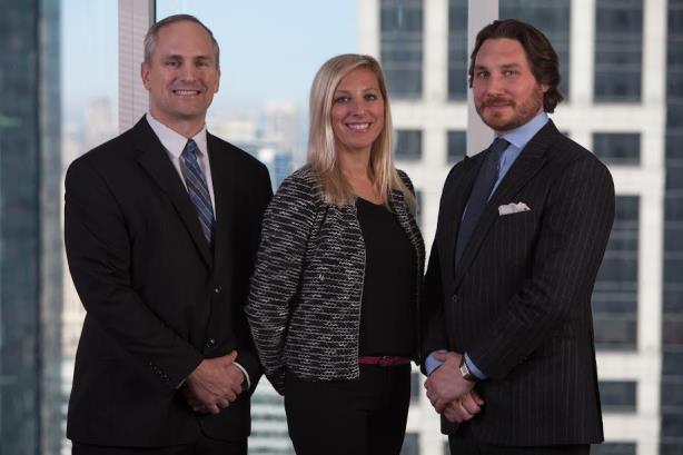 Clermont Partners founders Chris Kettmann, Victoria Sivrais, and Hugh Barker