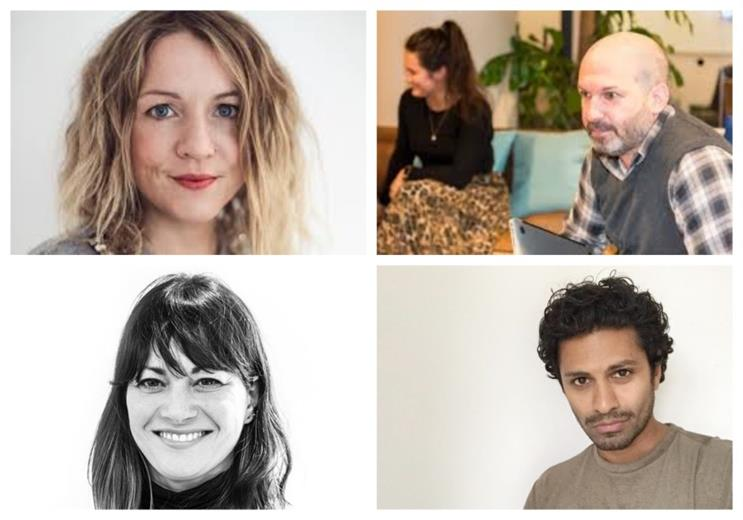The project has been co-ordinated by Jo Chappel & Nick Woods (top row), with Shirin Majid & Indy Selvarajah (bottom row) among the expert mentors