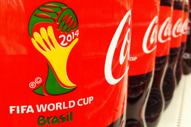 Coca-Cola: 'Every day that passes, the image and reputation of FIFA continues to tarnish' (Credit: Mike Mozart via Flickr)