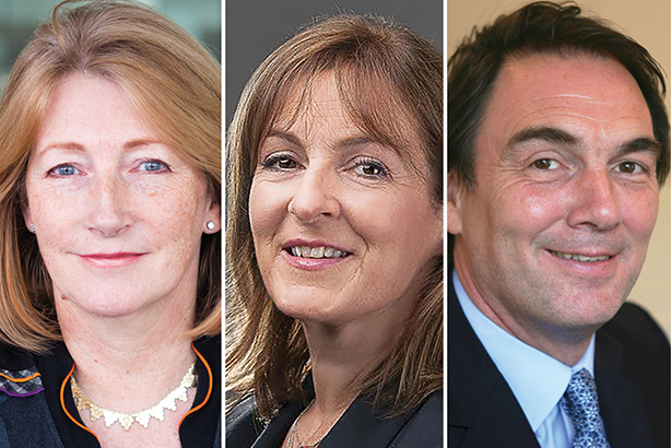 (l-r) Garrard, Lawrie and Parker made the Power Book corporate & financial podium