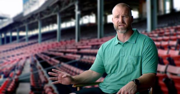 Boston Red Sox catcher David Ross is helping to teach the public about concussions