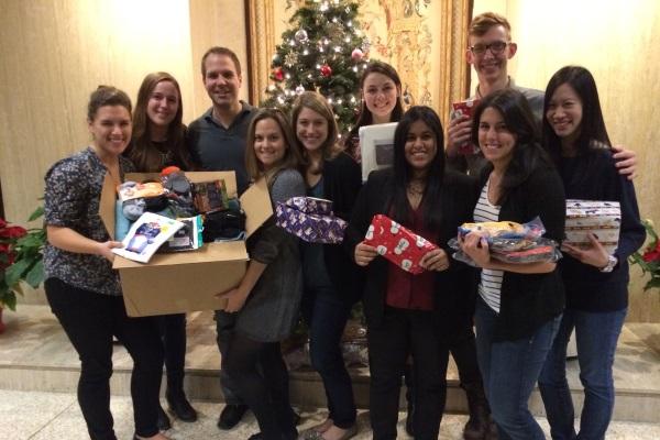 CooperKatz spreads holiday cheer to NYC neighbors
