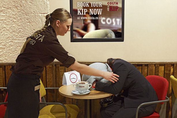 Costa and a Kip: April Fools' campaign created by One Green Bean