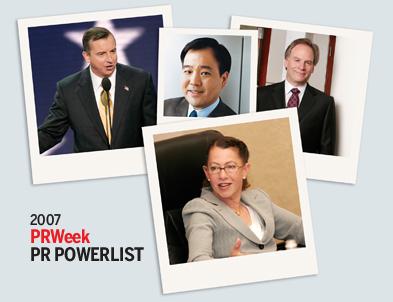 Power List 2007: Portraits of power