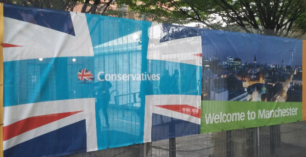 Tobacco to taxis, agencies to airships: the companies making their case at Conservative Party Conference