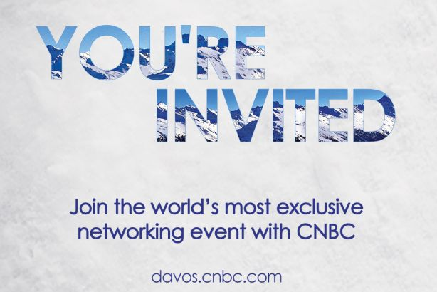 You're Invited: CNBC International campaign for Davos