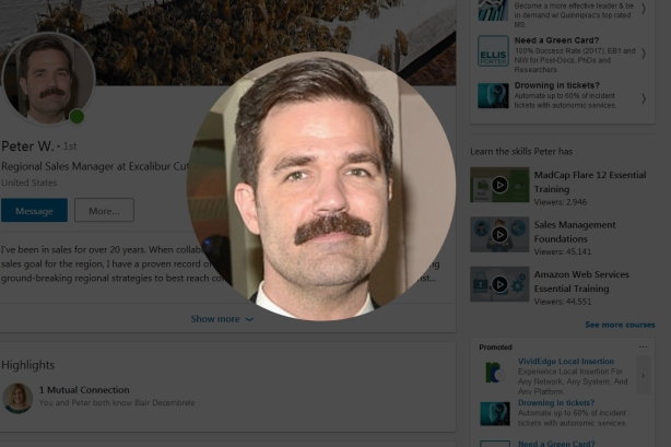 This Deadpool 2 character's LinkedIn profile is a little too realistic