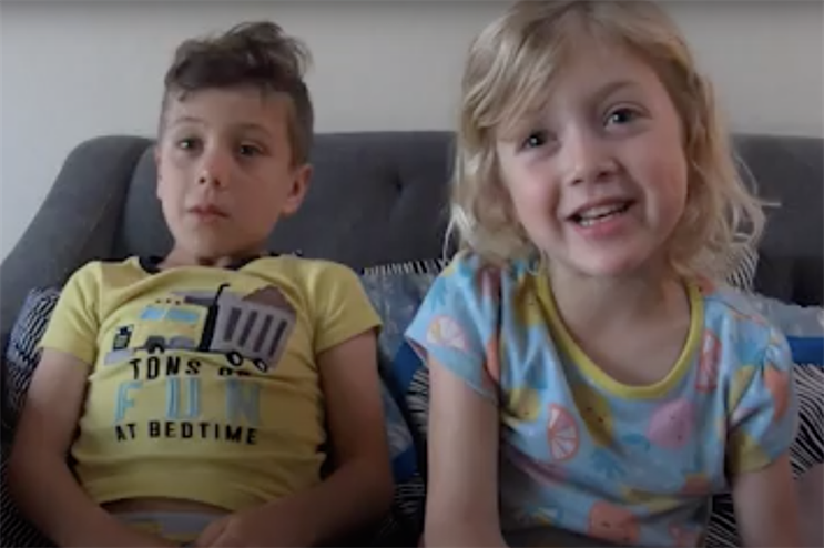 Video: 'Your job seems too boring' - Kids and partners observe PR pros in quarantine