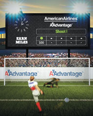 American Airlines shoots to score with Hispanic travelers