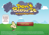 Nasonex encourages allergy sufferers to play a new game
