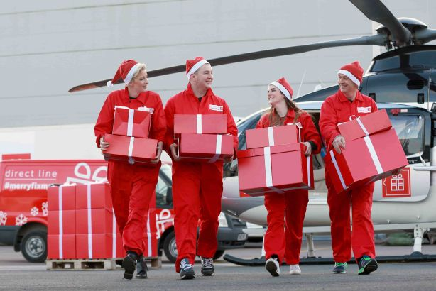 Direct Line 'fixers' deliver solutions to consumers for #merryfixmas campaign