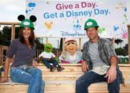Disney Parks promotes volunteering in 2010 marketing campaign