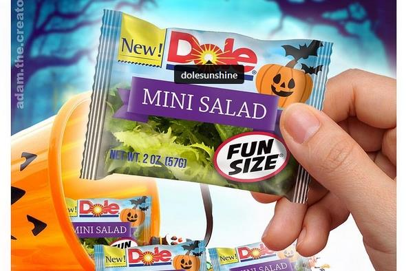 Dole on those fake 'fun-size' Halloween salads: 'We are not above being lampooned'