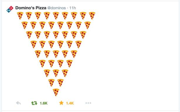 The key to CP+B's buzz-building strategy for Domino's: emojis, lots of emojis