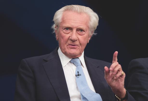 Lord Heseltine warns leaving EU would 'destroy' Britain