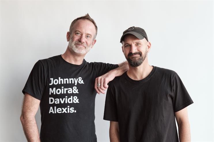 New hires: Neil Johnson (left) and Andrew Stevens