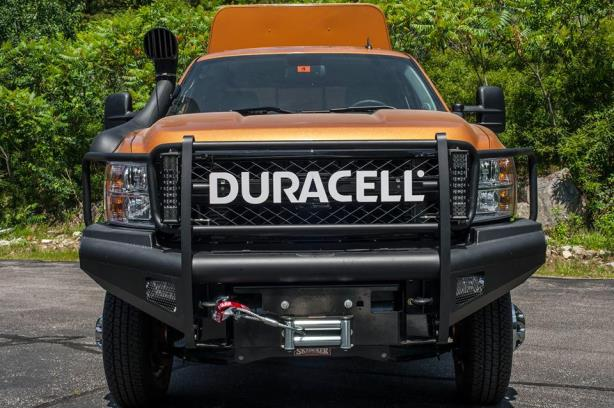 Duracell's Rugged Responder vehicle