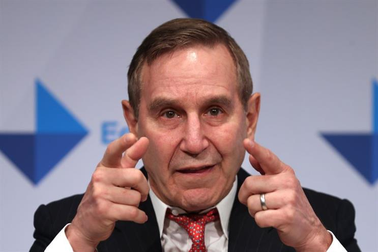 Richard Edelman at Davos in January. (Photo credit: Getty Images)
