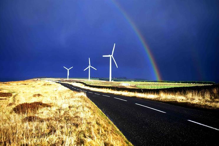 EDF Energy's High Hedley wind farm