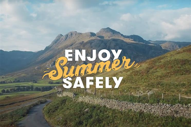 Topham Guerin provided 'strategic and creative direction' for the Enjoy Summer Safely campaign