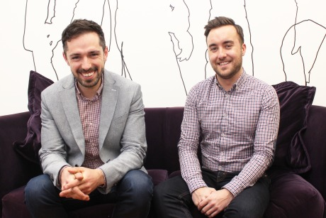 Eulogy: Has hired Phil Borge (l) and Mark Doonan (r) from Threepipe